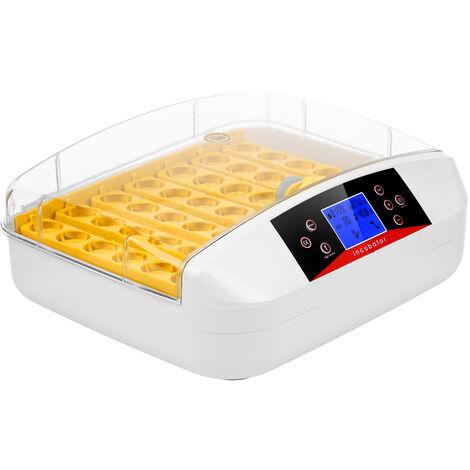 Incubateur Numerique D'Oeufs Machine D'Eclosion De Volaille De 41 Oeufs Avec Le Tourneur D'Oeufs Candler Affichage Lcd Temperature Prereglee, Eu
