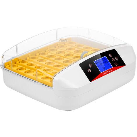 Incubateur Numerique D'Oeufs Machine D'Eclosion De Volaille De 41 Oeufs Avec Le Tourneur D'Oeufs De Ventilateur Affichage Lcd De Temperature D'Humidite Prereglee, Eu