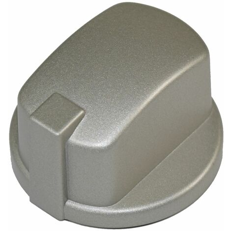"""main image of """"Indesit Compatible Oven Cooker Hob Control Knob Inox Pack of 1"""""""