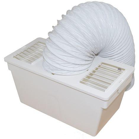 Indesit IDV 75 S Tumble Dryer Condenser Vent Kit Box With Hose