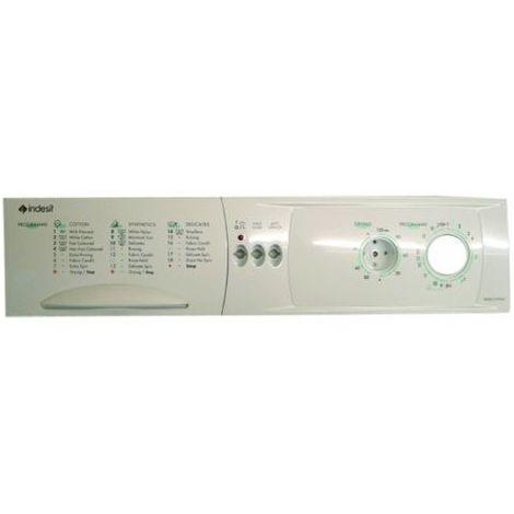 Indesit Washing Machine White Control Panel and Display Front