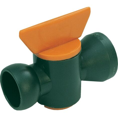 "Indexa In-line Plastic Valve 1/4"" Bore"