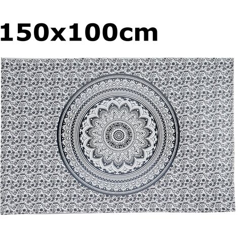 Indian Tapestry Wall Hanging Mandala Bedspread Throw Bohemian Cover Beach Towels Type 5 150x100cm