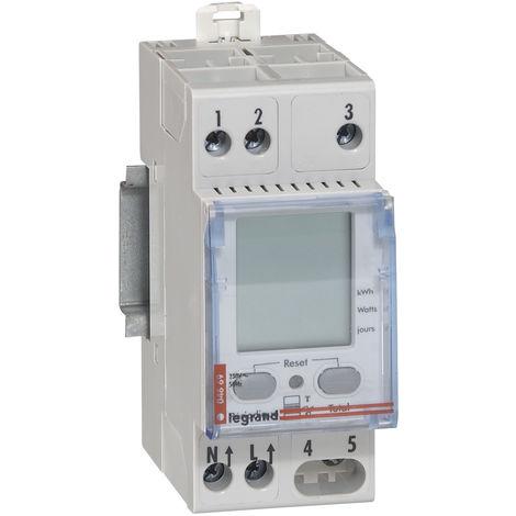 Indicateur de consommation d'énergie pour compteur Enedis Tarif bleu 230V alternatif