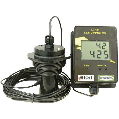 Indicateur de niveau sans contact avec câble de 5 m/Indicateur de niveau SecuTech LC 102 / ST001003 (Distance par rappo