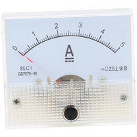 Indicateur De Panneau De Courant Analogique Dc0-5A, Jauge D'Amperemetre De Testeur