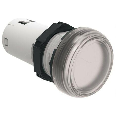 Indicatore luminoso Lovato monoblocco a LED Trasparente LED 230V LPMLM7