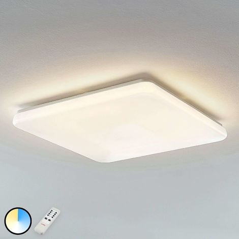 Indika LED ceiling light colour change CCT angular
