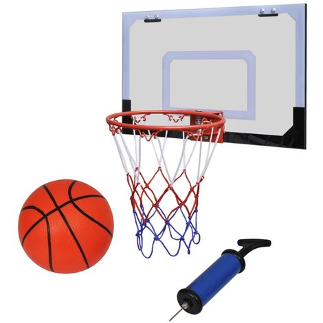 Indoor Mini Basketball Hoop Set with Ball and Pump VD32033
