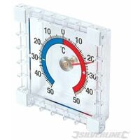 Indoor/Outdoor Stick-On Thermometer - -50? to +50?C (985719)