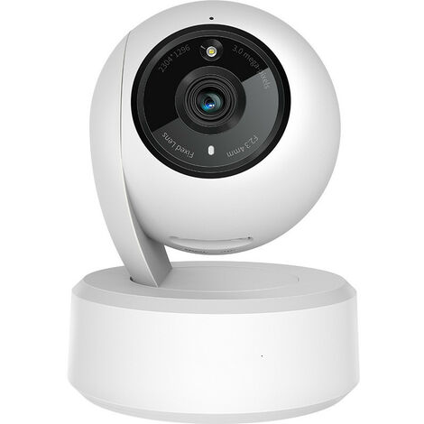 Indoor Surveillance Cameras, Wireless IP Surveillance Camera, 1080P WiFi FHD, 24 Hours Continuous Recording, Motion Detection with Sound Alarm, Compatible with iOS / Android