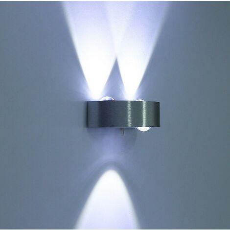 "main image of ""Indoor Wall Light Aluminum Metal Wall Lamp Modern Wall Light for Living Room Bedroom Hotel Hallway Corridor Dining Room 3000K Cold White"""