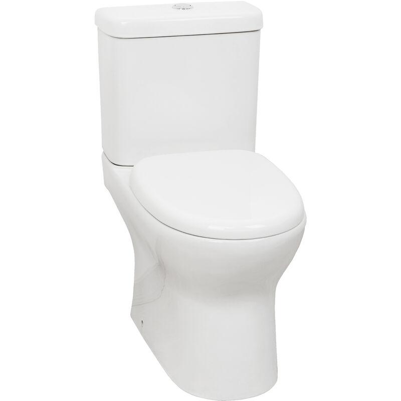 Indoro Ceramica Blanca Sin Brida Para 1 Mejor Higiene Adi Sh
