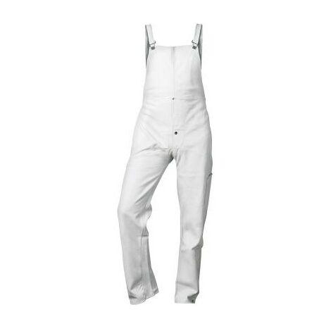 Indumentaria de soldador de cuero vacuno puro TL pantalón con pyo