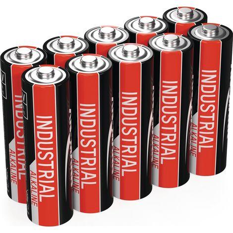Industrial Alkaline Batterien im 10er Vorteilspack