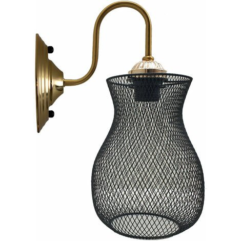 Industrial Cage Wall Lights Sconce Lamp Wall Light Retro Edison Loft