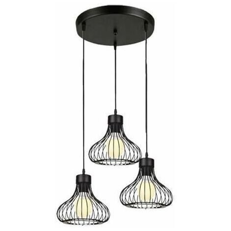 Industrial Ceiling Pendant Lights Fitting Chandelier Lampshade For Home Office Bedroom Living Room Dining Room Coffee Shop Ds A B7
