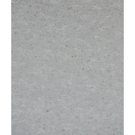 Industrial Concrete Stone Wallpaper Metallic Rustic Grey Gold Textured Vinyl