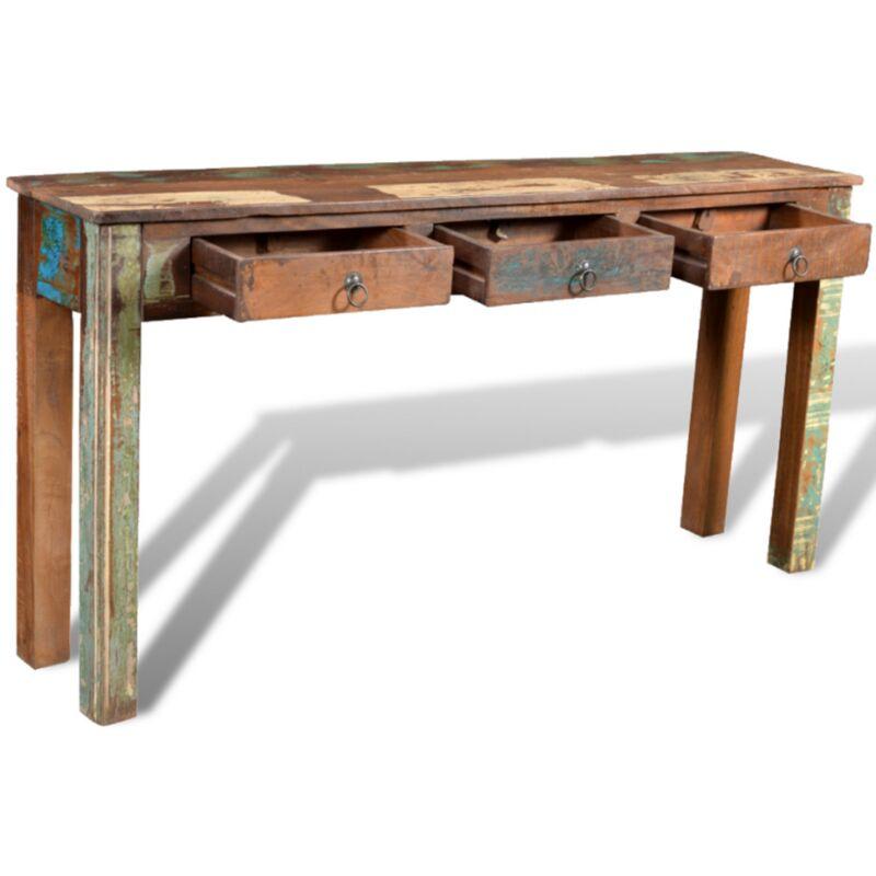 Console Table Vintage Rustic Furniture Large Sideboard Side Storage