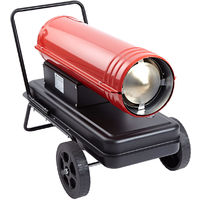 Industrial Diesel Parrafin Space Heater Workshop Garage Warmer