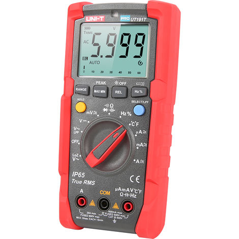 Industrial digital multimeter True UT191T without battery delivery