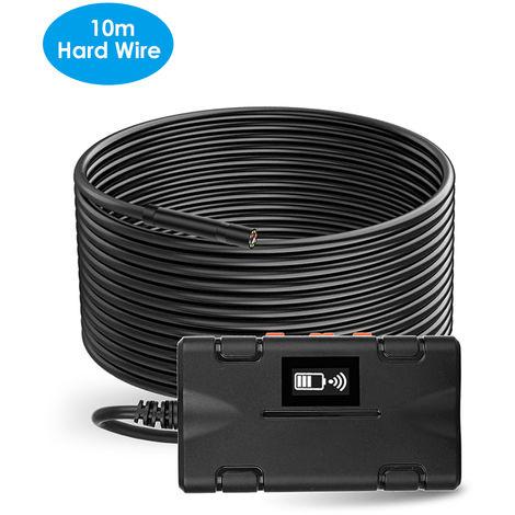 Industrial endoscopio WiFi de Inspeccion endoscopio de la camara de alta definicion 1080P 8 mm Diametro de la lente incorporada de 8pcs LED ajustables IP67 a prueba de agua, de 10 metros de alambre duro