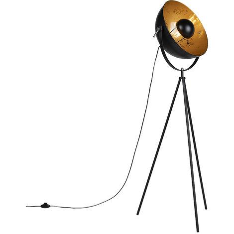 "main image of ""Industrial floor lamp tripod black - Magna 40 Eglip"""