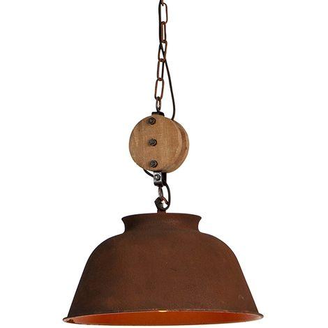 Industrial hanging lamp rust - Bax