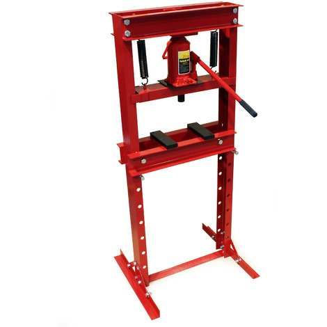 Industrial Hydraulic Workshop Bench Press 20t Pressure Shop Garage Floor