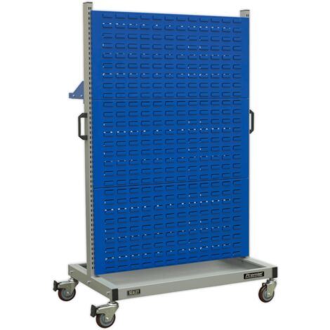 Industrial Mobile Storage System with Shelf