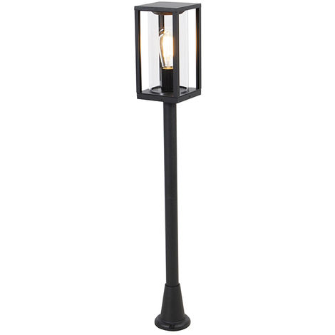 Industrial outdoor lantern black 100 cm IP44 - Charlois