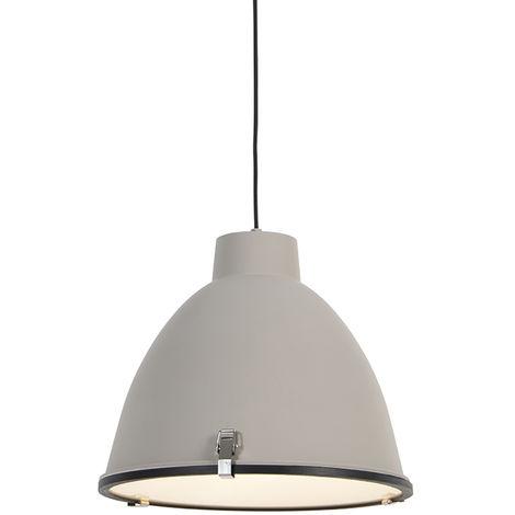 Industrial Pendant Lamp 38cm Brown - Anteros