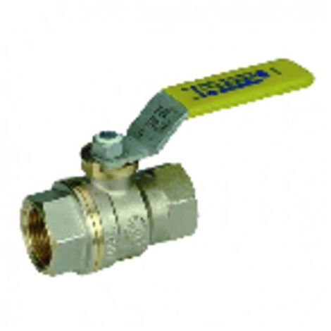 "Industrial plumbing fixture nf gas valve ff3/4"""""" - SFERACO : 620005"