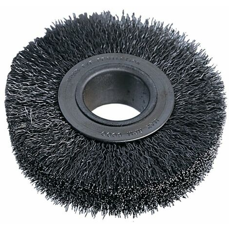 Industrial Rotary Wire Brushes - Crimped - 30 SWG
