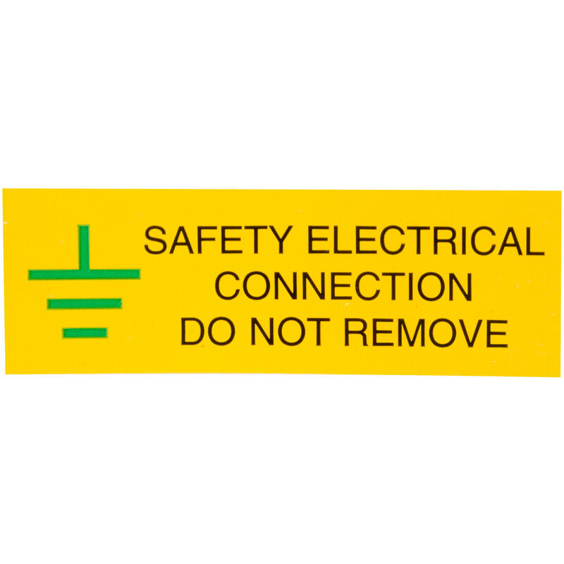 Image of IS0610SA Safety Electrical Connection 75x25 - Pack of 10 - Industrial Signs