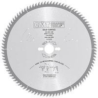INDUSTRIAL SOLID SURFACE CIRCULAR SAW BLADES