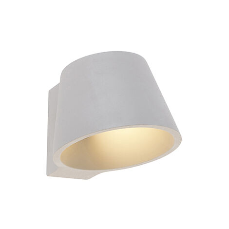 Industrial wall lamp concrete - Cup