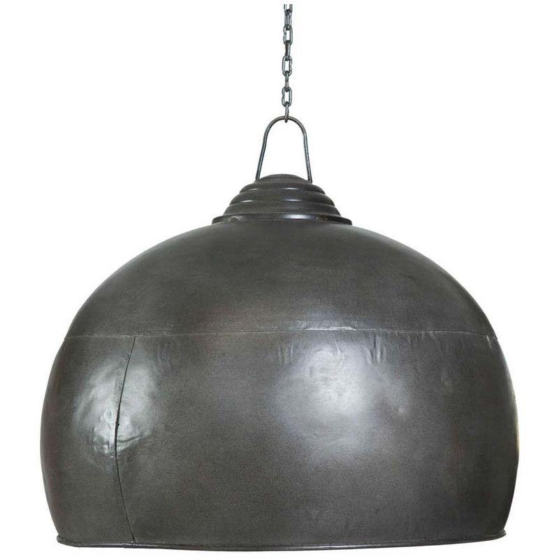 Hängeleuchte, nicht elektrifiziert aus Eisen mit antikiertem schwarzem Finish L43xPR43xH43 cm.