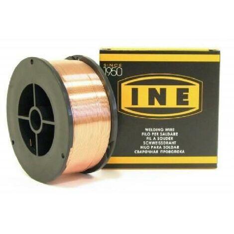 INE Bobine de fil a souder acier Mig-Mag Ø0.6 mm 5 kg