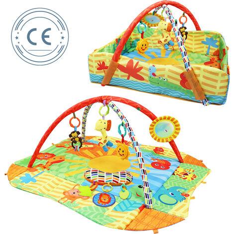 Infant Playmat, Baby Play Mat, Animals World Pattern, Standard/Certification: ROHS, EN71-1-2-3