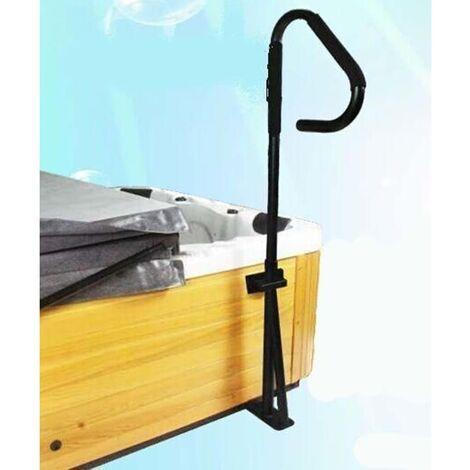 Infinity Spa Handrail - Black