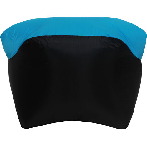 Inflable portable Sofa Sofa Camas almohada para dormir para acampar al aire libre Viajar, Azul