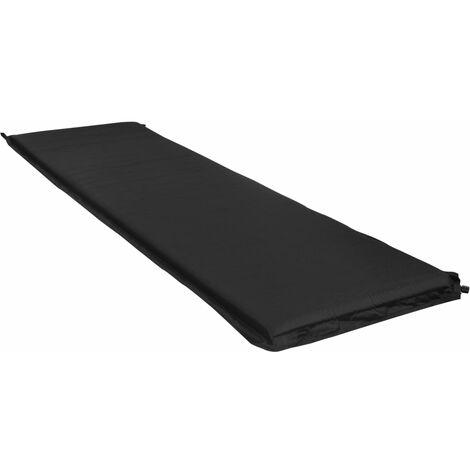 Inflatable Air Mattress 66x200 cm Black