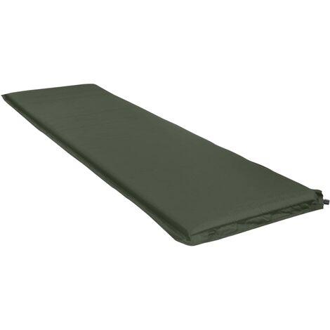 Inflatable Air Mattress 66x200 cm Dark Green