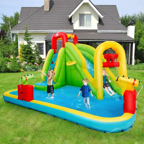 Inflatable Kids Bouncy Castle Water Slide Play House Bounce Jumping Climbing Type 1