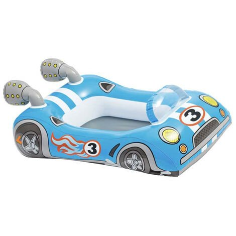 Inflatable mattress for child racing car model - 107x69 cm