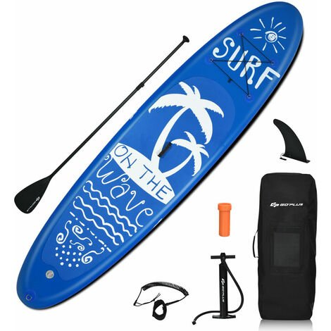 Inflatable Stand Up Paddle Board Surfboard Surfing ISUP Water 297cm