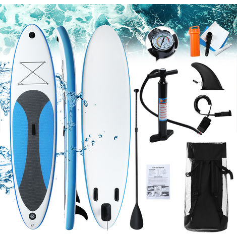 Inflatable Stand Up Paddle Surfboard Portable Inflatable SUP Board Set