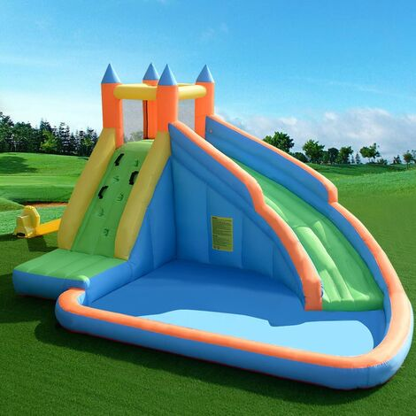 Inflatable Water Slide Kids Bouncy Castle Play House Bounce Jumping