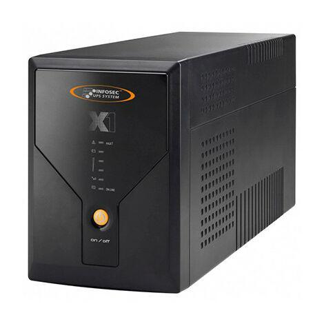 Infosec - Onduleur INFOSEC X1-1600 (1600 VA / 900 Watts)